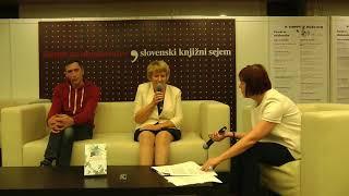 Predstavitev knjige Klošarka z Miklošičeve na Slovenskem knjižnem sejmu, 1. del