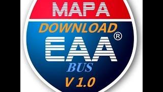 DOWNLOAD E INSTALAÇÃO DO MAPA EAA BUS V1.0
