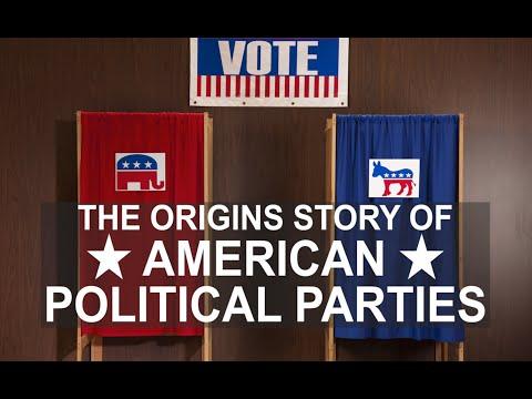 The Origins of American Political Parties: a crash course