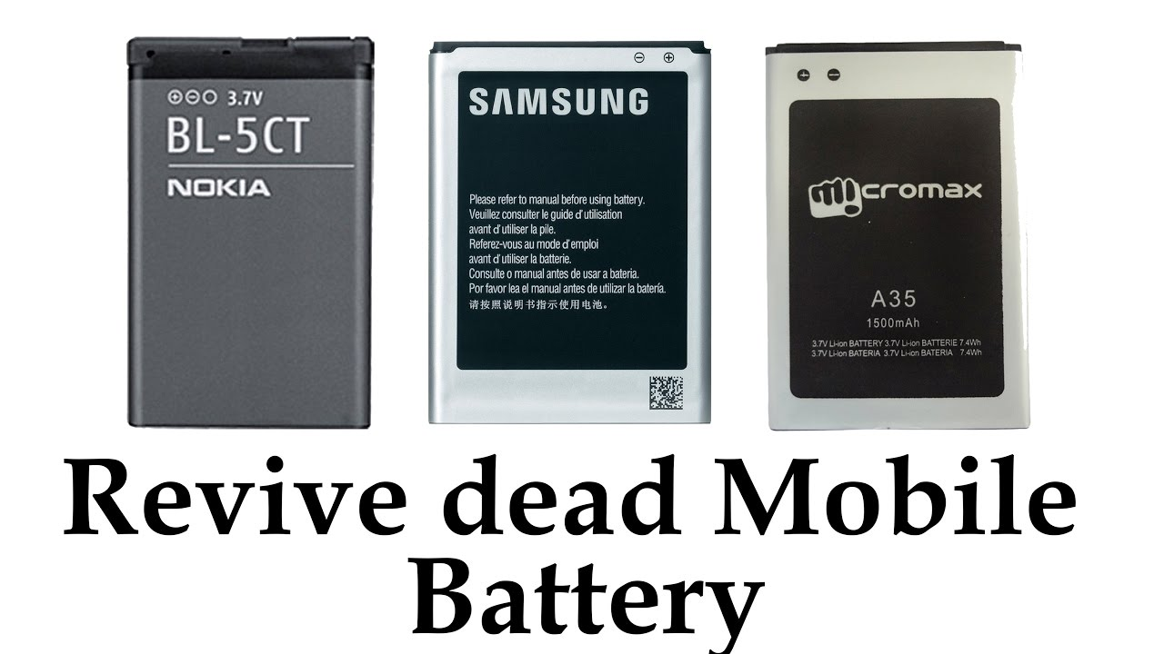No More Dead Cell Battery