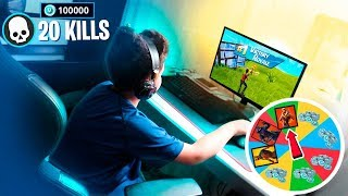 DEI 2,500 V BUCKS FOR EVERY KILL MY LITTLE BROTHER DID PLAYING FORTNITE