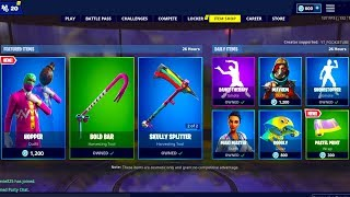 *NEW* FORTNITE ITEM SHOP TODAY APRIL 18th (NEW SKINS) - Fortnite Battle Royale LIVE