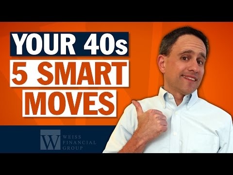 Retirement Planning in Your 40's – Financial Planning Advice for Retirement – 5 Smart Moves