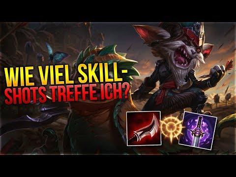 Wie viele Skillshots treffe ich? Kled Toplane [League of Legends] [Deutsch / German] thumbnail