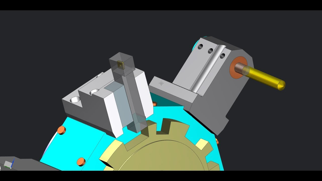 Library of machine tool devices in NX CAM