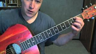 I Cry- Guitar Lesson- Flo Rida   (Todd Downing)