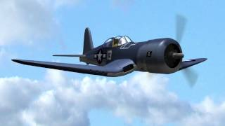 pacific glory wwii dog fight corsair vs zero