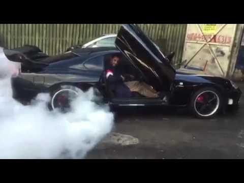 Black Toyota Supra Burnout suicide doors & Black Toyota Supra Burnout suicide doors - YouTube Pezcame.Com