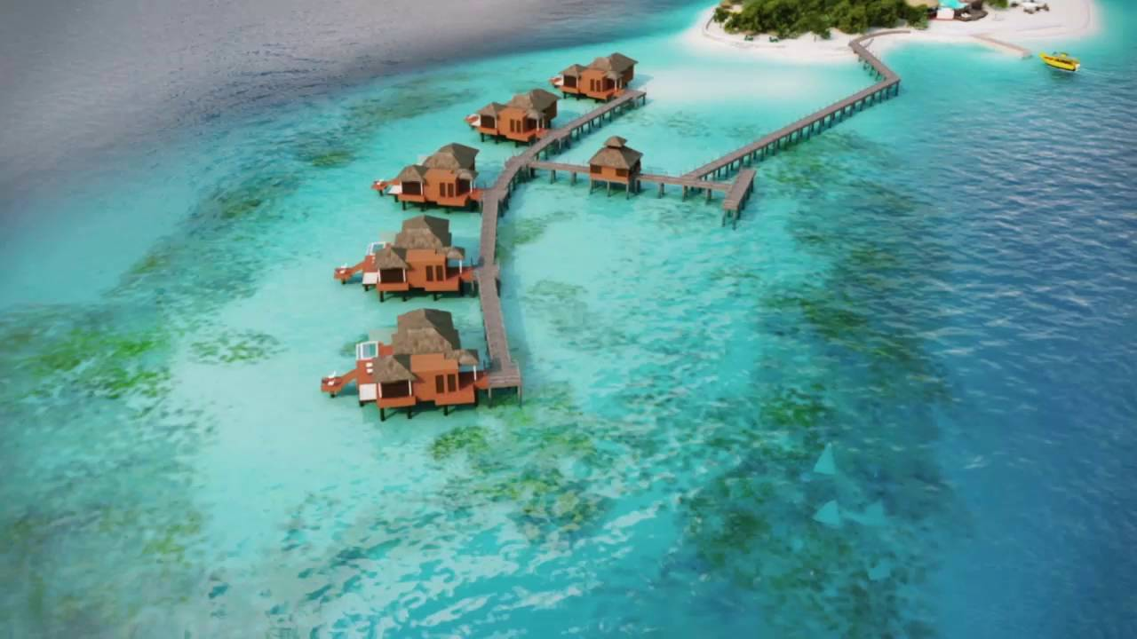 Sandals Resorts Over The Water Villas Youtube