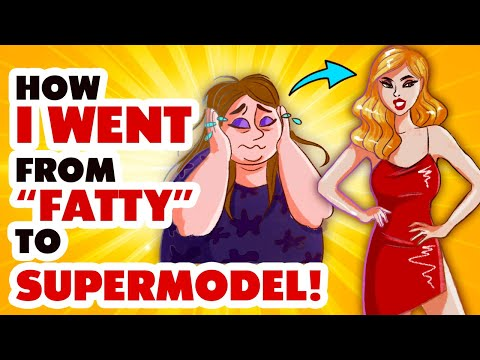 """How I Went From """"Fatty"""" to """"Supermodel"""" #animated #story"""