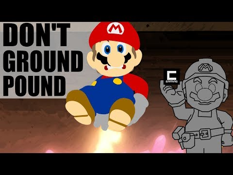 3 Designs for Don't Ground Pound Levels in Super Mario Maker.