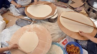 Yufka  Bread Recipe Handmade  Recipes made Have Machine made How it is made
