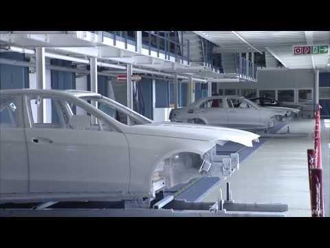 Mercedes E-Class Production, Sindelfingen, 2013 - Part 1