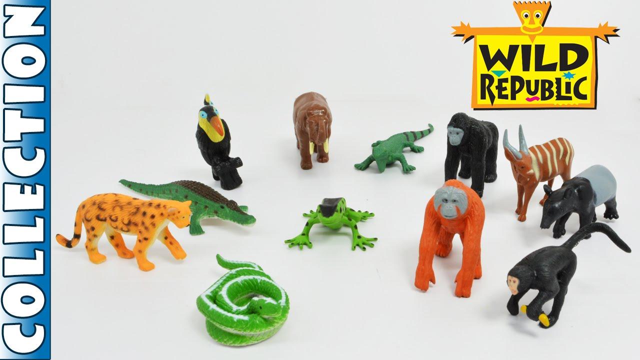 Rainforest Animals Toys