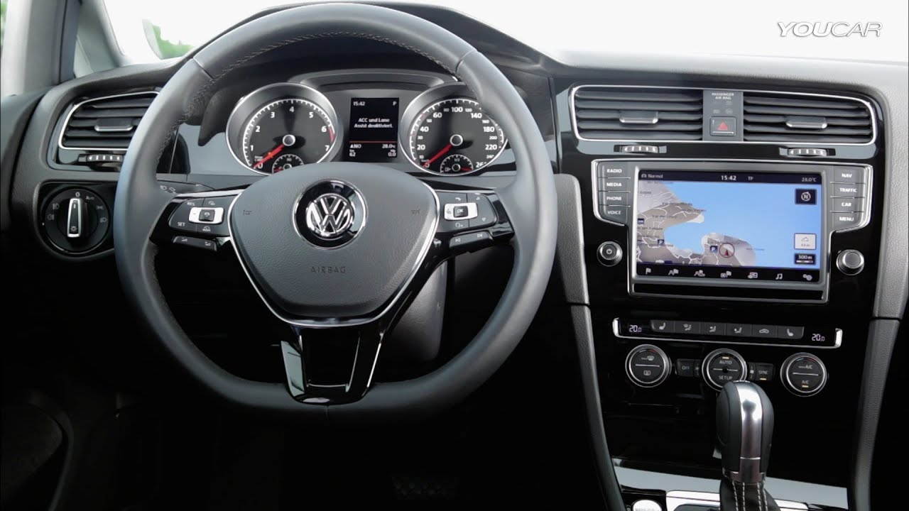 VW Golf MK INTERIOR YouTube - 2013 volkswagen golf gti interior