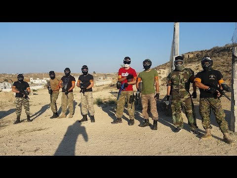 Cyprus 8/7/18 Paintball Session At Cyprus Paintball Agious Trimithias
