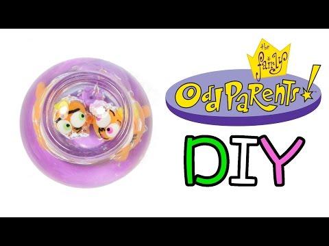 How to DIY Fairly Odd Parents Goldfish Bowl Clay Resin Tutorial FAIL!!!