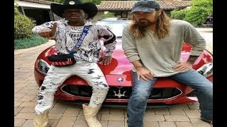 Lil Nas Gifts 200K Maserati To Billy Ray Cyrus