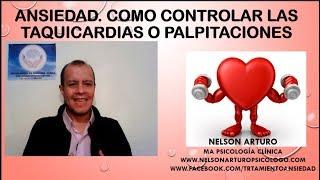 Cómo controlar la taquicardia o palpitaciones.