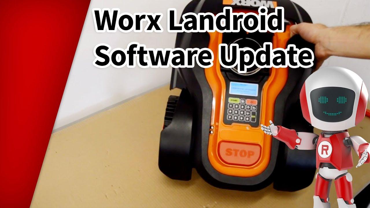 worx landroid software update durchf hren youtube. Black Bedroom Furniture Sets. Home Design Ideas