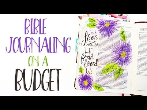 Bible Journaling On A Budget | Crayola Markers
