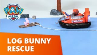 PAW Patrol | Log Bunny Rescue | Toy Episode | PAW Patrol Official & Friends