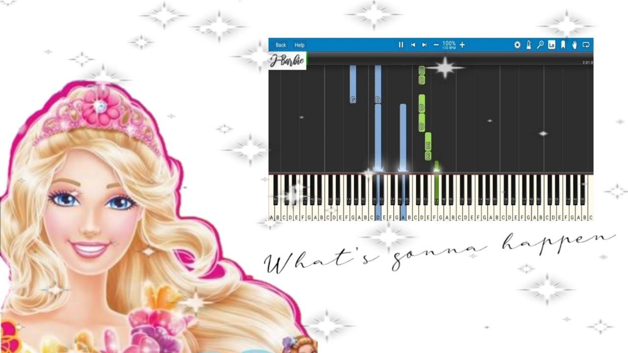 Download What's gonna happen - Barbie and the Secret Door (Piano Cover/Tutorial)