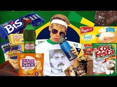 TESTING BRAZILIAN FOOD PART 1