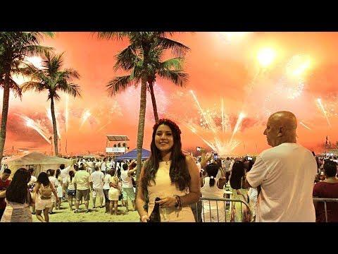 Así celebran AÑO NUEVO en BRASIL - Los viajes de Charlotte