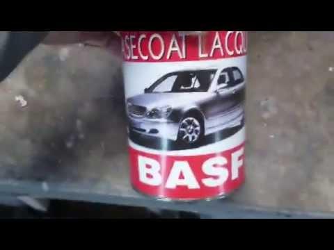 Покраска бампера и порогов ВАЗ 2115 серебро.