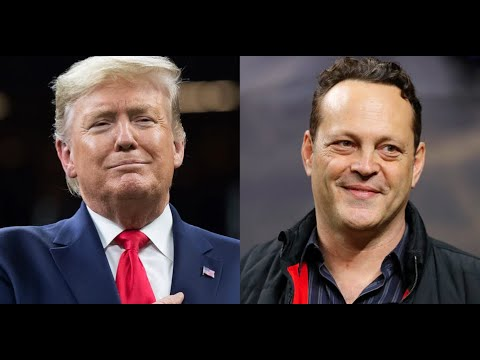 Vince Vaughn shook the president's hand at the LSU-Clemson ...