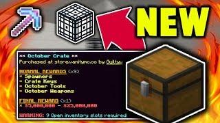 *NEW* MONTHLY CRATES ARE SUPER OP! (VanityMc Skyblock)