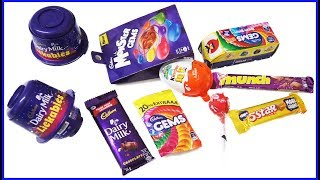 Kinder Joy Cadbury Dairy Milk Lickables And Other Surprise Chocolates With Surprise Toys ! Kids Toy thumbnail