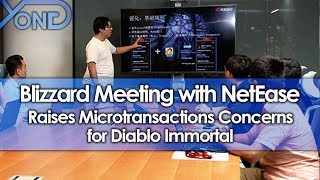 Blizzard Meeting with NetEase Raises Microtransactions Concerns for Diablo Immortal