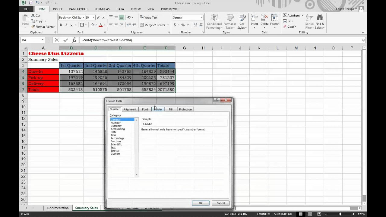 excel assignment 1