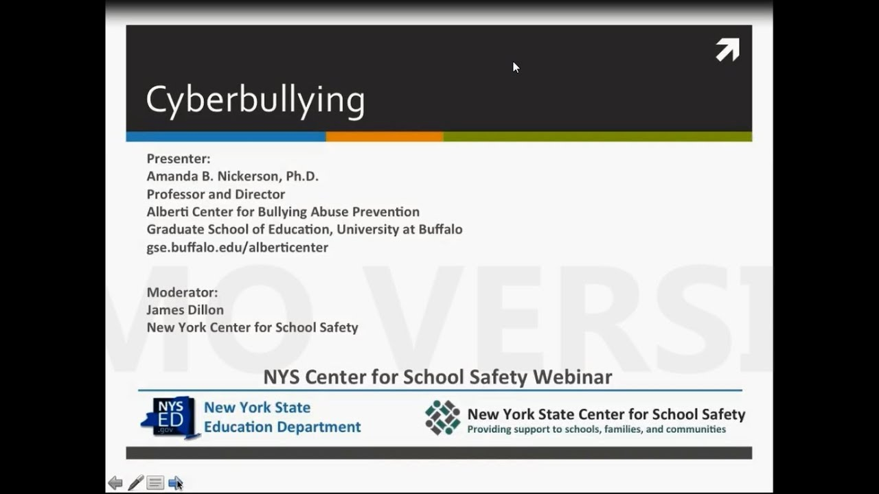 Cyberbullying Webinar June 2016 Part 1