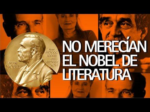 10 Escritores que no merecían ganar el premio Nobel