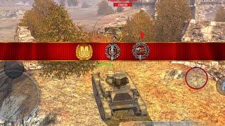 World of Tanks Blitz - T7 Combat Car aced