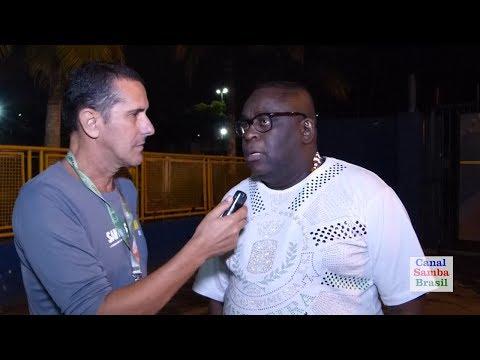 Prêmio Samba-Net - Entrevista do Intérprete Oficial da Mangueira: Marquinho Art'Samba 19.05