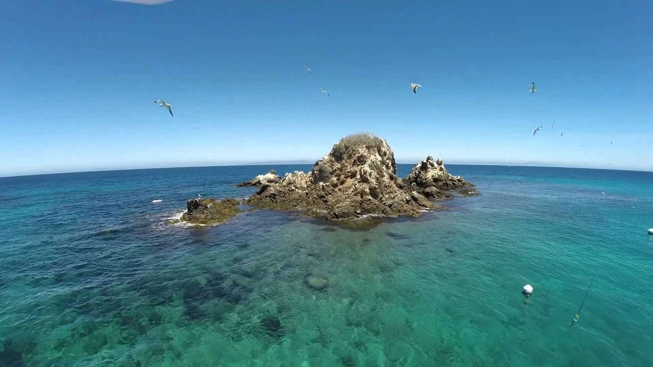 Areial emerald bay july 2014 youtube for Catalina bay