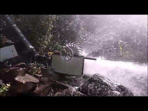 Micro usina hidreletrica área rural