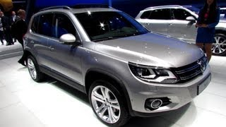 2014 Volkswagen Tiguan 2,0 TSI - Exterior, Interior Walkaround - 2013 Frankfurt Motor Show