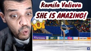Камила Валиева Reaction Короткая программа Женщины Финал Кубка России по фигурному катанию 202021
