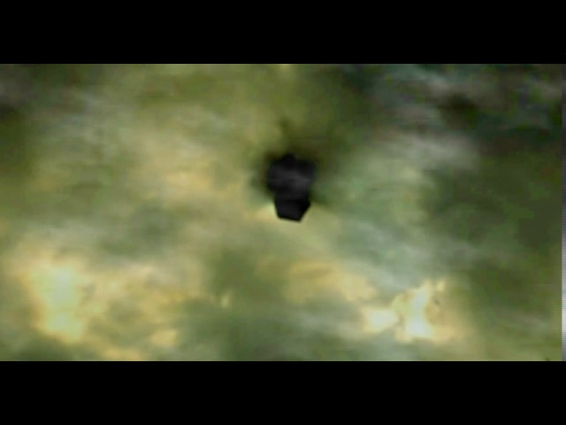 Mysterious Black Cube Ufo Spotted Over El Paso, Texas March 6, 2017