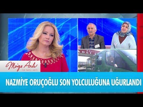 Nazmiye Oruçoğlu son yolculuğuna uğurlandı - Müge Anlı İle Tatlı Sert 29 Ekim 2018