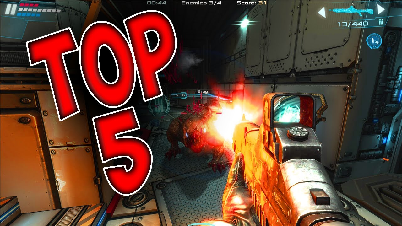 Top 5 Free Offline FPS Games For Android/IOS(Best Free ...