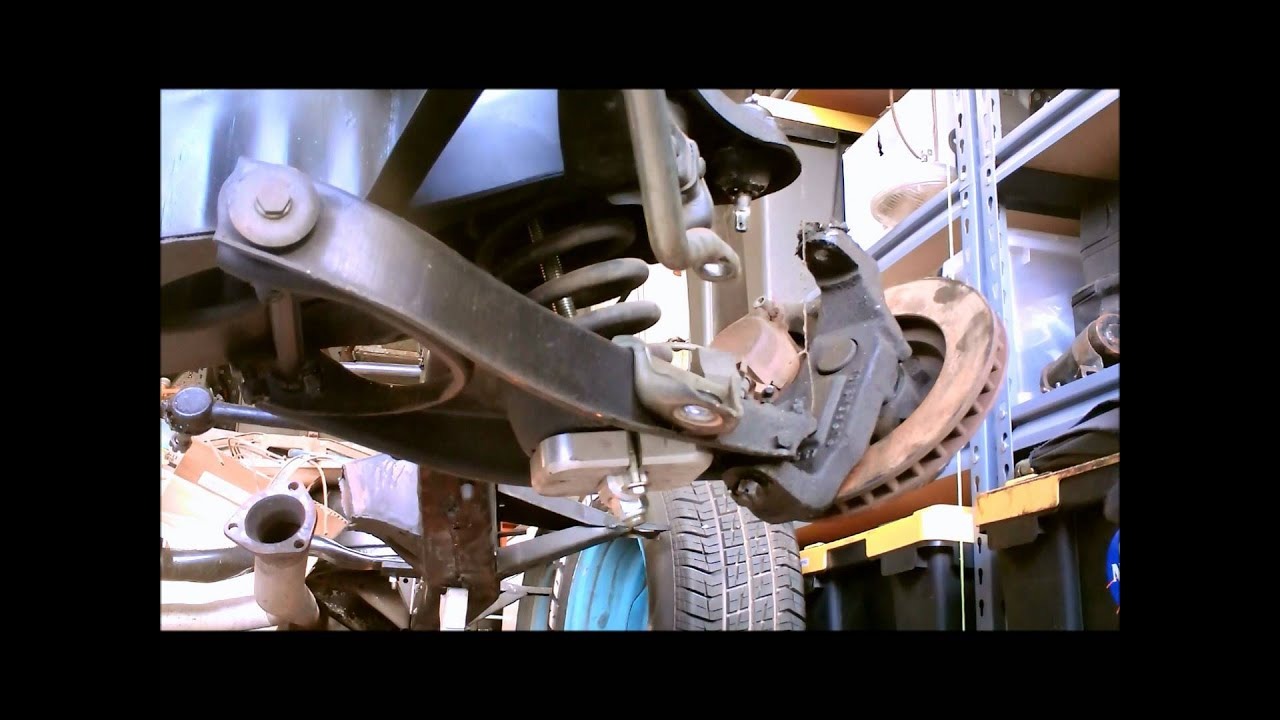 Control Arm And Coil Spring Removal On A 1955 57 Chevrolet Youtube 1957 Chevy Bel Air Front Suspension