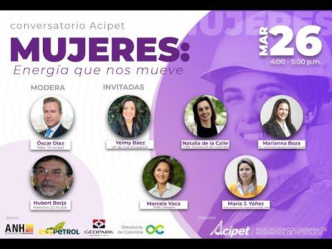 Conversatorio Acipet- MUJERES: