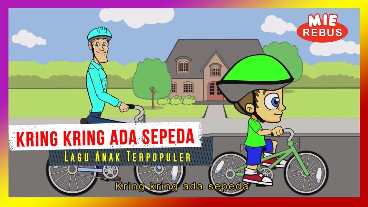 Kring Kring Ada Sepeda Lagu Anak Versi Kartun Lagu Anak Terpopuler