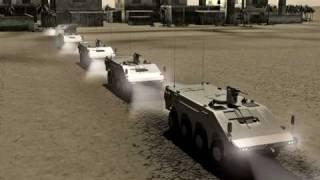 TORO 8x8 Nuevo vehículo de combate híbrido español